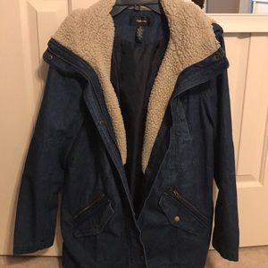 Women's Style & Co Jean Coat size XL
